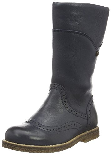 Froddo Mädchen Girls Children Boots Schneestiefel, Blau (Blue), 25