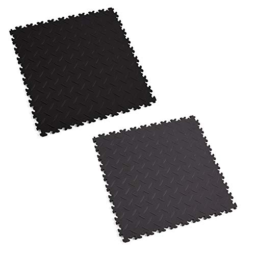 Fortelock PVC-Vinyl Bodenfliese Easyclick Diamant ECO 2010 (Graphit)