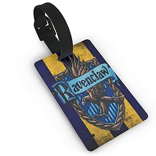Ha-Rry Pot-TER Rave-Nclaw Etiqueta de equipaje maleta titular de la tarjeta de visita documentos de viaje personalizados etiqueta de equipaje PVC 5,4 cm x 8,5 cm