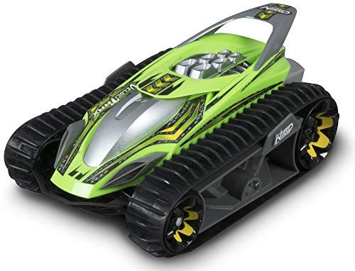 Nikko - VelociTrax - Steuerbares Auto - Ferngesteuertes Auto 360 Grad Drehungen - RC Auto mit Batterie - Raupenfahrzeug für Kinder - 18 x 29 x 13 cm - Neongrün