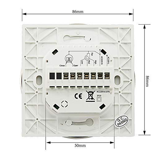 Qiumi JMY-BAC-6000ALW-White