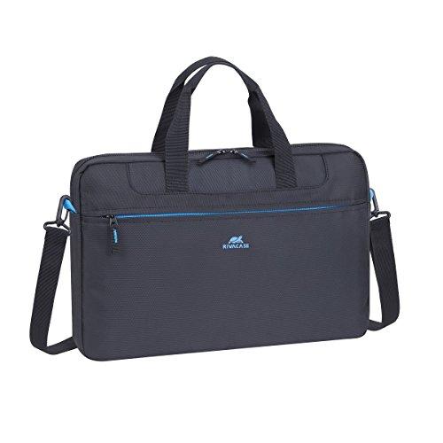 RivaCase 8037 Laptop bag 15.6' - Borsa per computer portatile fino a 15.6', Nero