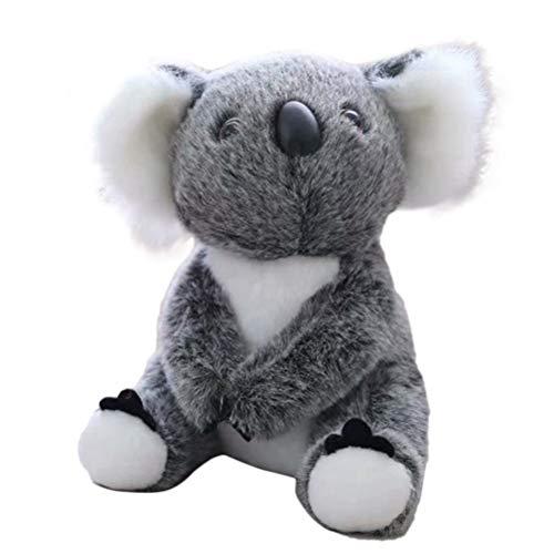 Vssictor Stofftier Koalabär Grau, Koala Plüsch Weich, Kuscheltiere Kuscheltier, Spielzeug Wild-Koala Plüschtier Geschenke für Kinder 13 cm