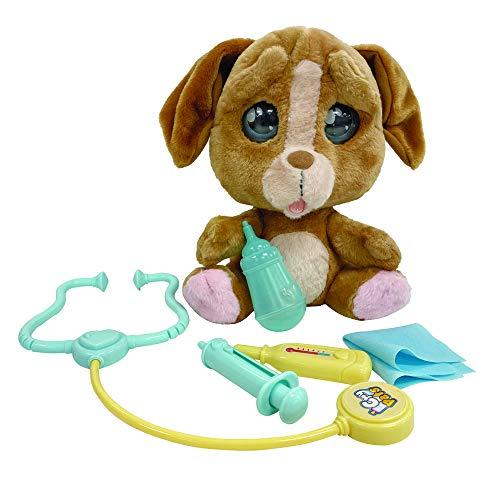 Giochi Preziosi - Emotion Pets Cry Pets Veterinario Set Deluxe Peluche Interattivo, 22 cm, MTC01000