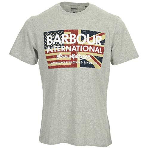 Barbour SMQ Vintage Flag tee, Camiseta
