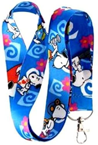 Blau Snoopy Lanyard Key Chain Holder by Unknown