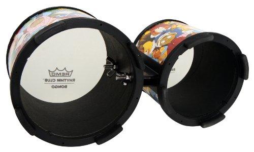 Remo RH-5600-00 Rhythm Club Bongo Drum - Rhythm Kids, 5