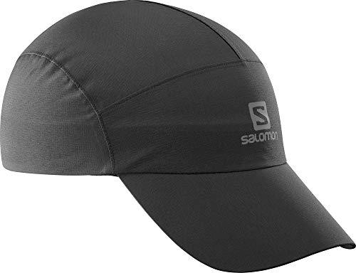 Salomon, Unisex-Trainingskappe, UV-beständig, WATERPROOF CAP, schwarz, Einheitsgröße, LC1302900