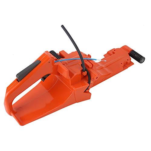 Mango trasero de motosierra, piezas de repuesto para montaje de tanque de combustible de mango trasero piezas de motosierra para Husqvarna 362, 371, 365, 372, 372xp