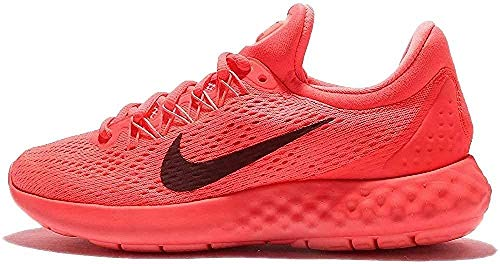 Nike Wmns Lunar Skyelux, Zapatillas de Running Mujer, Naranja (Coral/Negro/Hot Punch/Night Maroon/Lava Glow), 37.5 EU