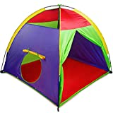"Alvantor Kids Tents Indoor Children Play Tents For Toddler Tents For Kids Pop Up Tent Boys Girls Toys Indoor Outdoor Play Houses 8017 Giant Party 58""x58'x47'"