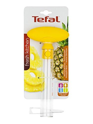 TEFAL Decoupe ananas K2080714 jaune et transparent