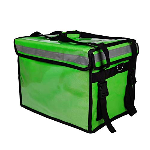 FDQNDXF Commercial Food Delivery Bag with Partition, Portable Thermal Insulation Bag, Reusable Waterproof Refrigerated And Thermal Insulation Suitcase,62L