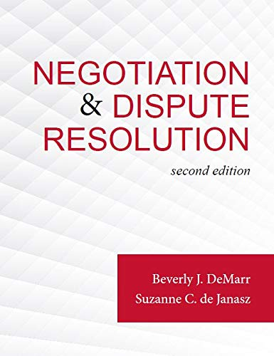 Negotiation & Dispute Resolution, 2e loose-leaf