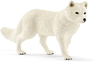 Schleich Wild Life Arctic Fox Educational Figurine for Kids Ages 3-8