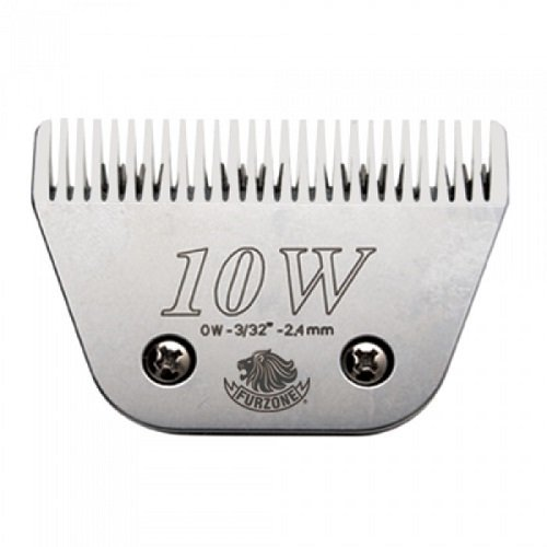 """#10W (0W-3/32""""-2.4 mm) barber beauty clipper blades compatible with Oster, Andis, Conair, Wahl, Laube, Thrive - Furzone Furzone #10w"""