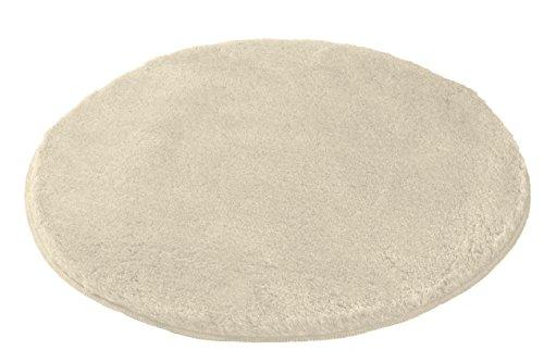 Kleine Wolke (Meusch) 2871226518 Badteppich Mona, 80 cm rund, sandbeige