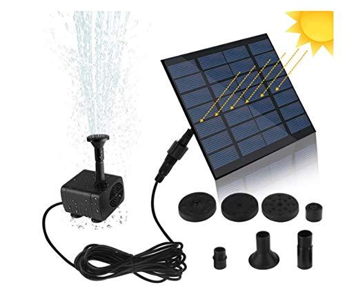 7 V fontaine solaire Arrosage kit Puissance Solaire Pompe Piscine Étang
