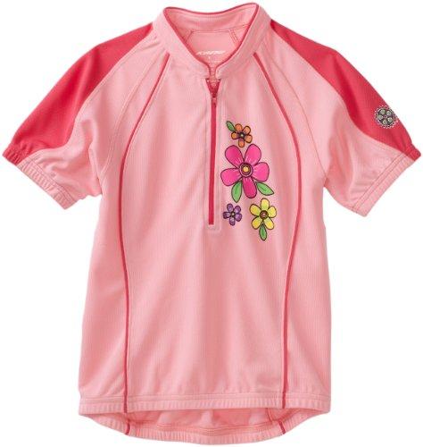 Kanu Bike Girl's So Sweet Cycling Jersey (Pink, Medium)