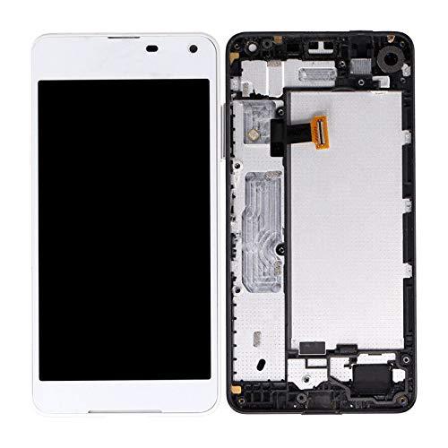 YuYue LCD-Display Touchscreen Digitizer für Nokia Lumia 650 12,7 cm (5 Zoll), Weiß