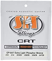 SIT STRINGS エスアイティストリングス アコギ用コーティング弦 CRT Coated Strings Extra Light CP1047【国内正規品】