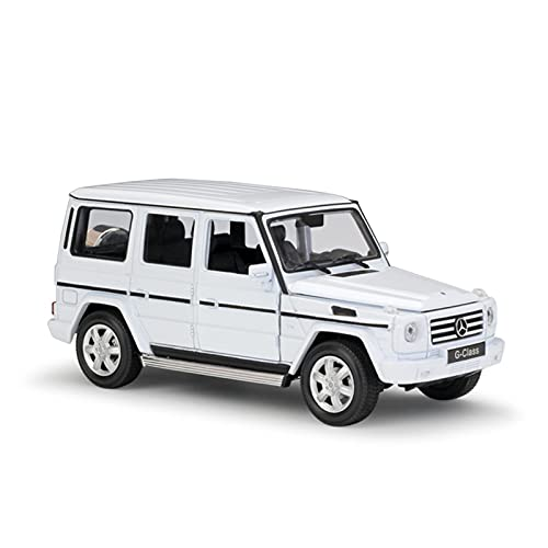Boutique Coche De Aleación 1:24 para Mercedes-Benz Clase G SUV Modelo Diecast Vehículo Todoterreno Coche De Juguete para Colección De Regalos (Color : 3)