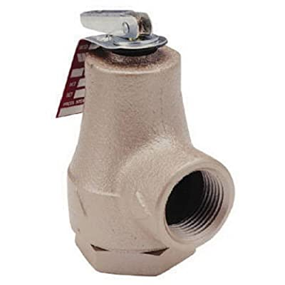 WATTS BRASS & TUBULAR 374A 3/4 Boiler Relief Valve by Standard Plumbing Supply