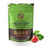 Prep-Right Survival Food Tablets - Strawberry 24 Count