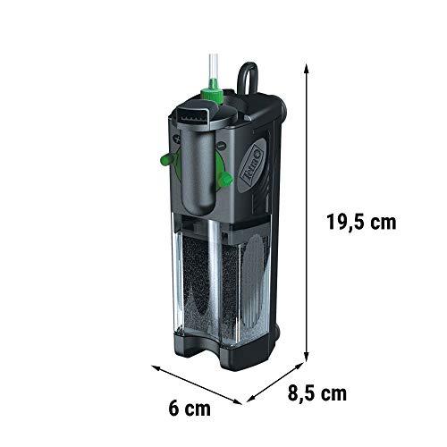 Tetra IN 400 plus  Innenfilter (zur biologischen und chemischen Filterung, stufenlose Regulierung der Durchflussgeschwindigkeit, geeignet für Aquarien mit 30 – 60 Liter) - 3