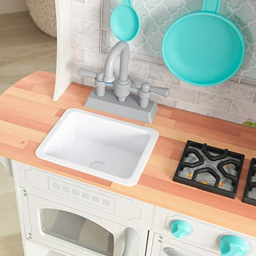 KidKraft 53424 Countryside EZ Kraft Assembly Spielküche aus Holz in Weiß - 5