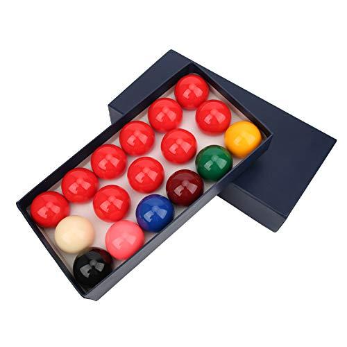 Biljartballenset, snookerballen in doos Glad 57.2 mm hars voor staven