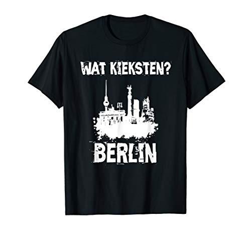 Cooles Berlin Skyline Berliner Schnauze I Mann Frau Kind T-Shirt