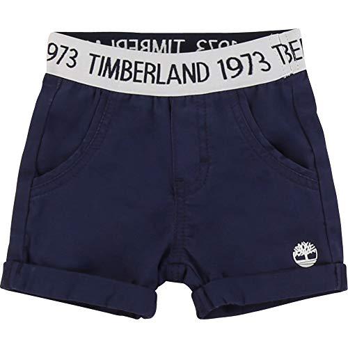 Timberland Bermuda en Twill Extensible Bebe Couche Indigo Blue 18MOIS