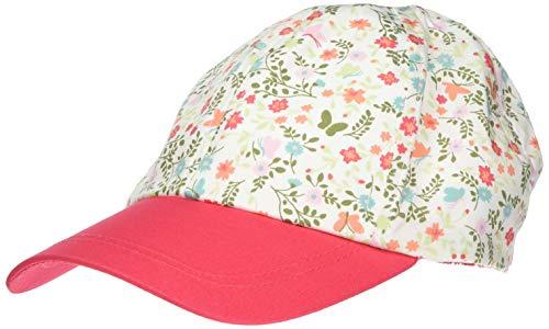 maximo Mädchen Cap Kappe, Mehrfarbig (Begonie-Blumen/Begonie 8484), (Herstellergröße: 51)