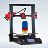 XINGTONGZHILIAN Impresora 3D Plegable FDM. Extrusor Tipo Bowden. Doble Eje Z. con Pantalla táctil, Drivers TMC2208, Placa de 32 bits, Cama de Vidrio. Tamaño de impresión 235 * 235 * 250mm