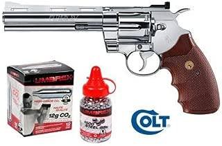 Colt Python CO2 Revolver, Chrome Air Pistol