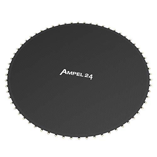 Ampel 24, Lona de Salto de reemplazo para Cama elástica con diametro de 305 cm | 64 Ojales | Costura décupla | Resistente | Carga MAX 150kg