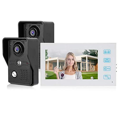 Cámara con Cable Cámara de visión Nocturna Timbre AHD 1080P, para el hogar, para Edificios públicos(European regulations)