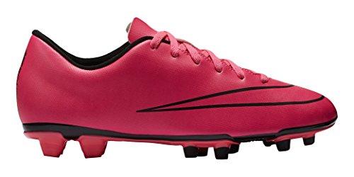 Nike Mercurial Vortex II FG, Fußballschuhe, Hyper Pink/Hyper Pink/Black/Black, 42.5 EU