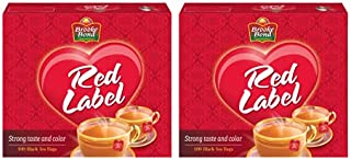 Brooke Bond Red Label Black Tea, 2 X 100 Teabags
