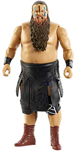 WWE Ivar Action Figure Series 118 Action Figure Posable 6 in Collectible for Ages 6 Years Old and Up