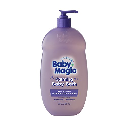 Baby Magic Calming Baby Bath, Lavender and Chamomile, 30 Ounces