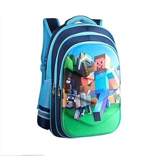 Zaino WEN FENG Gioco Zaino Bambini Eva Cartoon School Bag Primary Bagpack For Boys Girls Schoolbags Kids Student Backpacks 42x34x22 cm b3 (in questo modo)