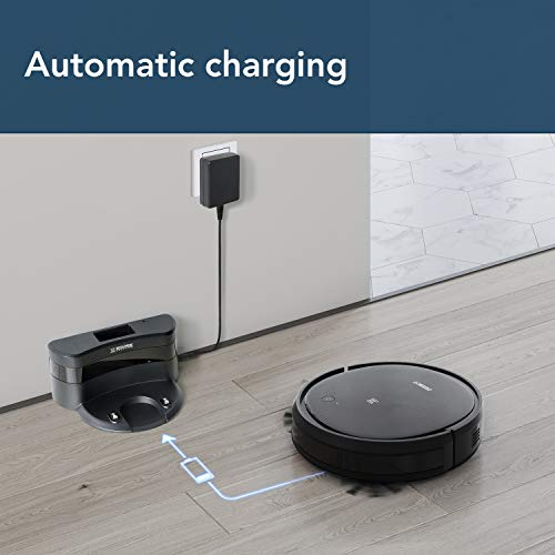 Ecovacs Deebot 500 Robots Vacuum Cleaner Robotic Smart APP Control Max Mode Suction Power 3-Stage Cleaning System Compatible Alexa with 1 Year Local Warranty
