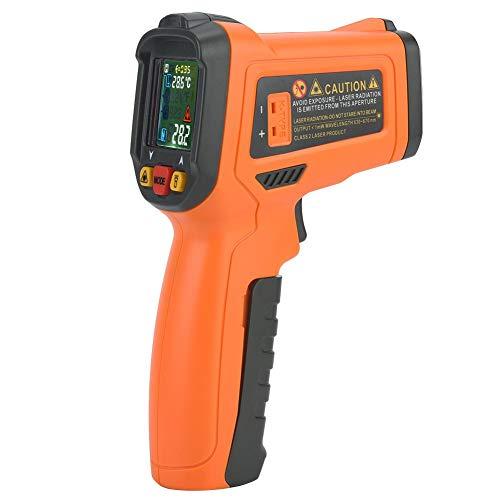 Termómetro infrarrojo digital PM6530D de alta precisión, sin contacto, termómetro infrarrojo digital, 50 ºC ~ 800 ºC / -58~1472 °F