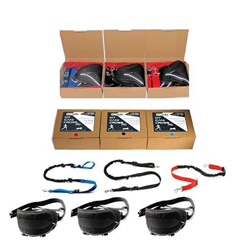 cat-or-dog. Boutique Kit Profesional de Canicross: cinturón confort Pro + Laisse extensible