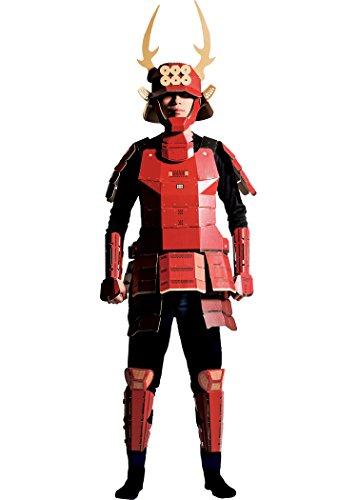 着れちゃう!ダンボール甲冑 真田幸村 大人用 コスチューム 男女共用 180cm