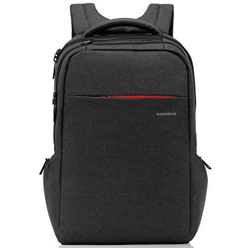 Norsens Lightweight Laptop Backpack 15.6 inch Environmental-Friendly Slim Business Backpacks for Laptop/Notebook/Computer/Travel