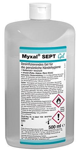 Händedekontamanitation Myxal HDS 500ml Hartfl. | 4260029177442