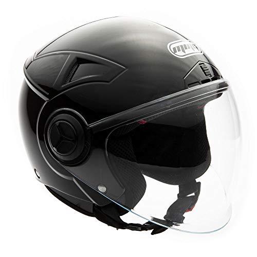 MMG Helmets Open Face Pilot Style Helmet